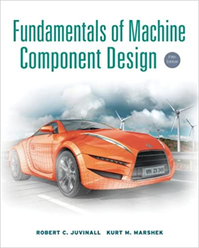 Fundamentals Of Machine Component Design 5th Edition