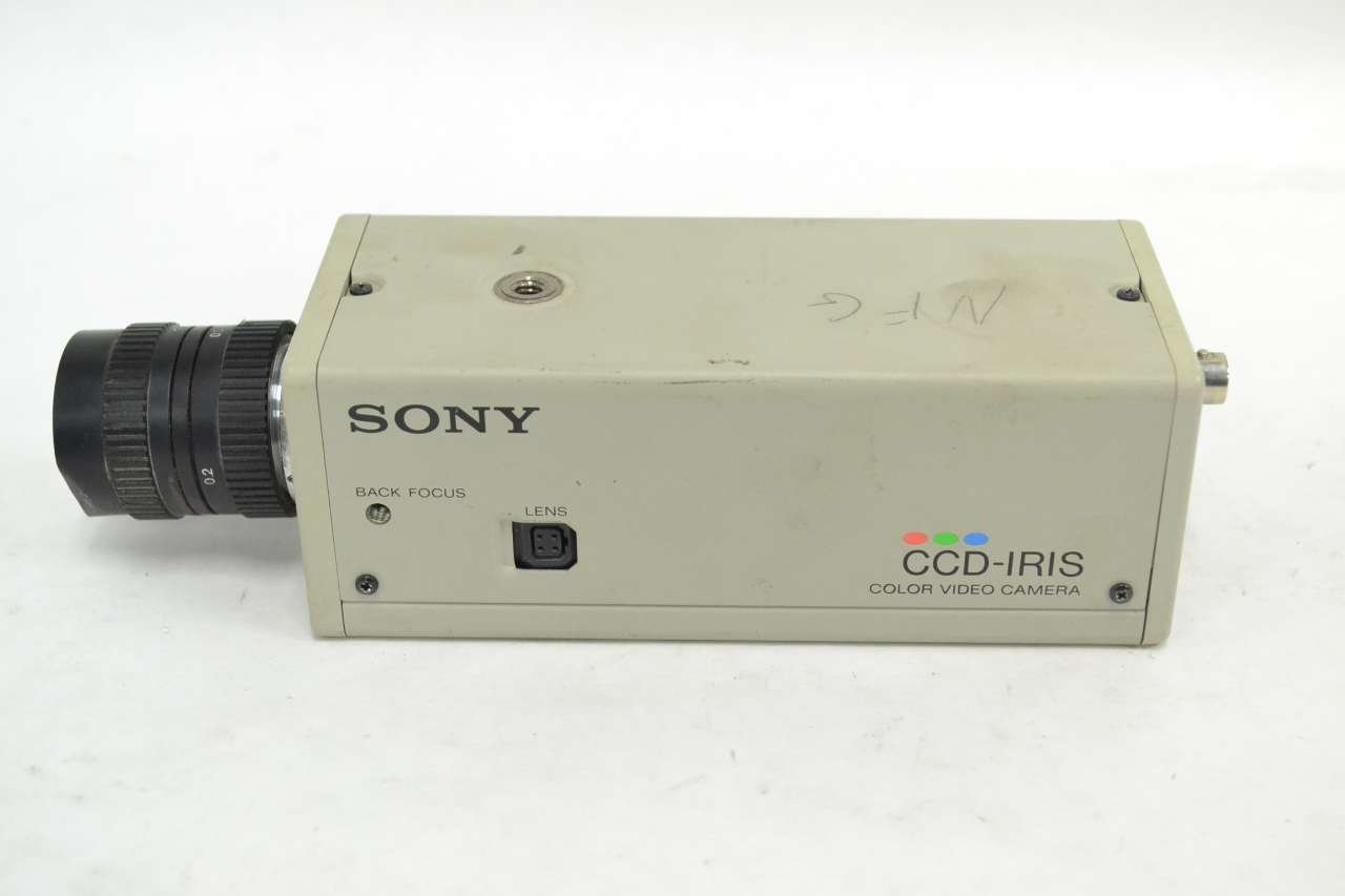 SONY SSC-C354 CCD COLOUR VIDEO CAMERA 4.3W 24V-AC SAFETY AND SECURITY B342456 by Sony