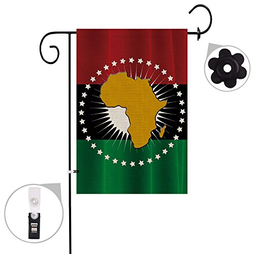 Bonsai Tree Africa Seasonal Burlap Garden Flag Banner Decorative Outdoor Double Sided Yard Flag 12 x 18 Prime