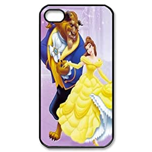 Best Quality [SteveBrady PHONE CASE] Beauty And The Beast For Iphone 4 4SCASE-6