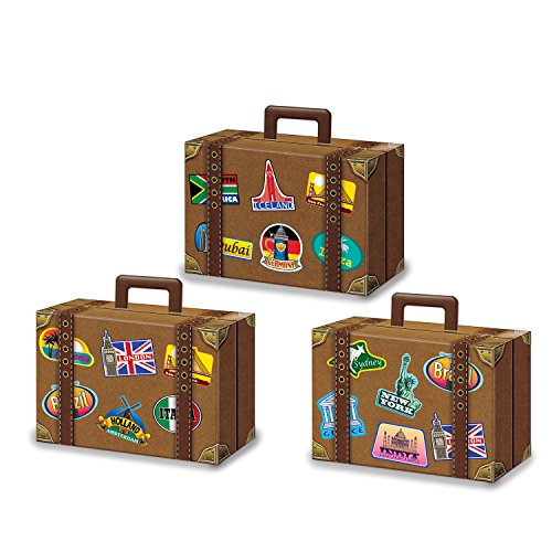 Luggage Favor Boxes - Luggage Favor Box