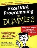 Excel VBA Programming for Dummies, John Walkenbach, 0764574124