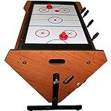 Trademark 3-in-1 Rotating Table Game (Billiards, Air Hockey, and Foosball)