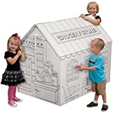 My Very Own House Coloring Playhouse- Grocery