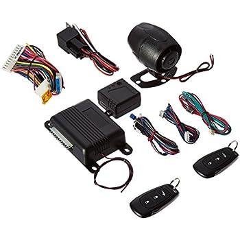 Amazon com viper 350 plus 3105v 1 way car alarm keyless entry on audiovox car alarm wiring diagram Bay Alarm Wiring Diagram Remote Starter Wiring Diagrams