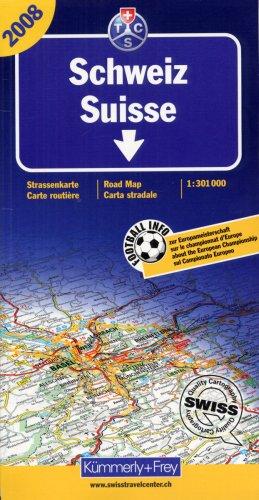 Schweiz TCS 2008: Massstab 1:301000