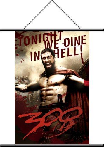 300 King Leonidas Wall Scroll