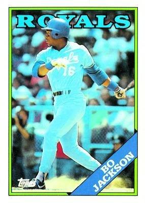 Amazoncom 1988 Topps 750 Bo Jackson Kansas City Royals