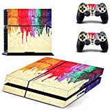Cheap UUShop Paint Design Colors Skin Decal Cover for Sony PlayStation 4 PS4 Console Sticker