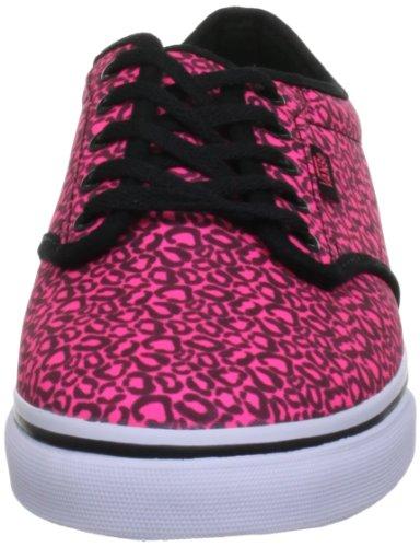 Pink Low Atwood Neon Skateboardschuhe Damen Vans Black Pink YAO7wqq