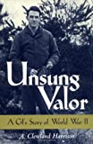 Unsung Valor, Cleveland A. Harrison, 1578062144