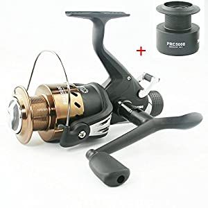 Carp Fishing Reel PRC4000/5000 Spinning Reel 7+1BB Free Extra Spool Fishing Reel (PRC5000)