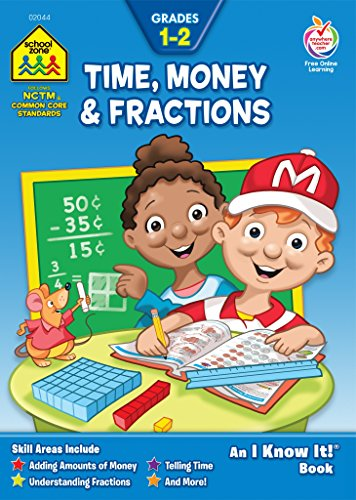 Time Money   Fractions  Grades 1 2  An I Know It  Book