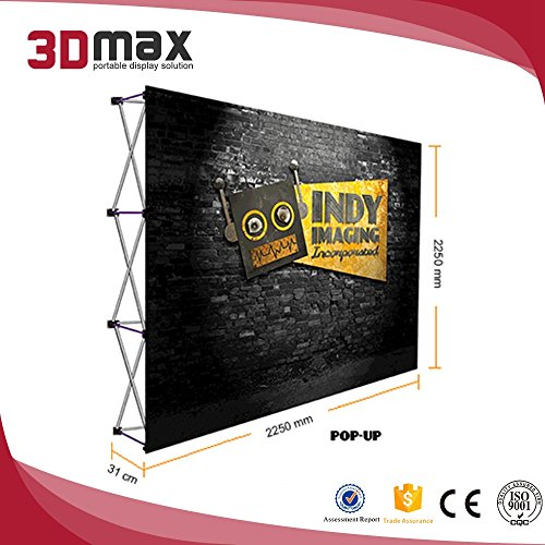 (3DMAX Straight Pop Up Display (6ft))