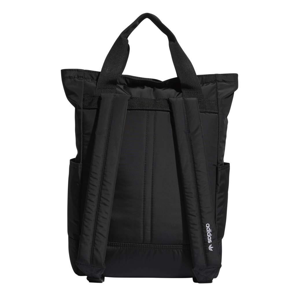 2b1b4dab02 Amazon.com: adidas Originals Tote Backpack, Black, One Size: Sports &  Outdoors