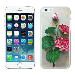 Flower Iphone 6 plus Cases White