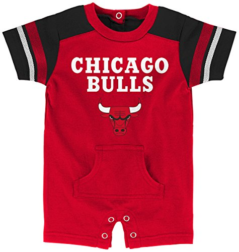 NBA Newborn & Infant Romper Chicago Bulls-Red-18 Months