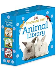 Touch and Feel: Animal Library: Includes Baby Animals, Wild Animals, and Jungle Animals