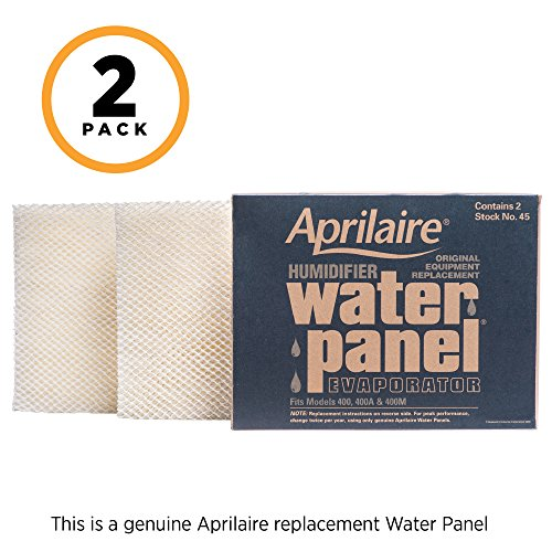 Aprilaire 45 Replacement Water Panel for Aprilaire Whole House Humidifier Models 400, 400A, 400M (Pack of - Aprilaire Humidifier