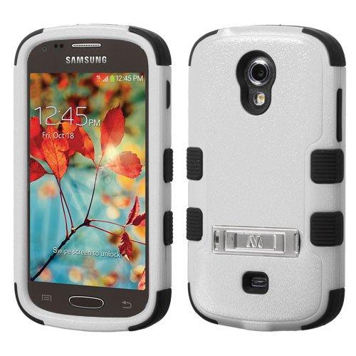 Wydan Case for Samsung Galaxy Light T399 - TUFF Kickstand Impact Hybrid Hard Gel Shockproof Case Cover ()