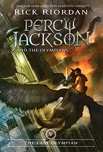5 Paperback Books - The Last Olympian (Percy Jackson and the Olympians, Book 5)