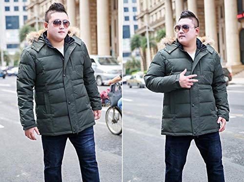 Fat Hommes Vêtements Les Warm Dans Gros Thick Zjexjj Jacket Plus 7Sw466xd