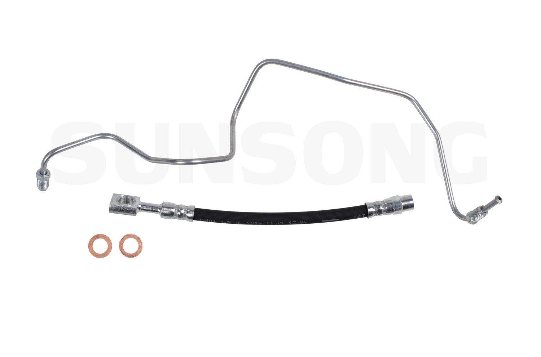 Sunsong 2206181 Brake Hose Audi, Volkswagen