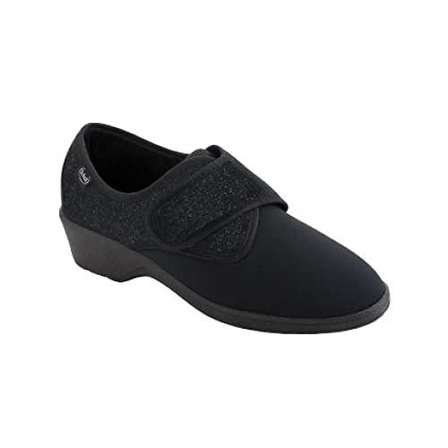 DR.SCHOLL Zapato de Tela Elástica y Microfibra Agnes MC Negro Size: 35 DM6n7jI