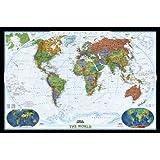 World Decorator, Tubed: Wall Maps World