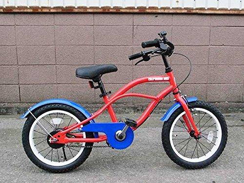 キッズ ビーチクルーザー セシル/レッド カリフォルニアバイク 子供用 自転車 バイク アメリカン雑貨 アメリカン雑貨 ビーチクルーザー B01JTWS1SC