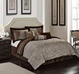 Nanshing Dionne 7 Piece Comforter Set, California King