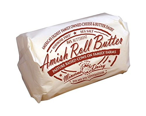 Amish Style Roll Butter