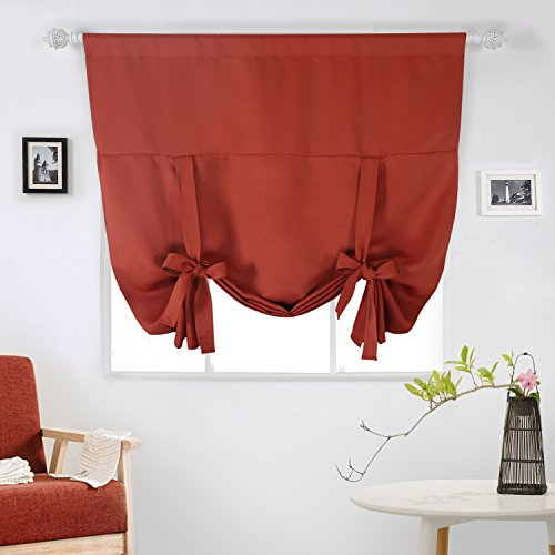 AUTHENTIC Deconovo Rod Pocket Blackout Curtain Tie Up