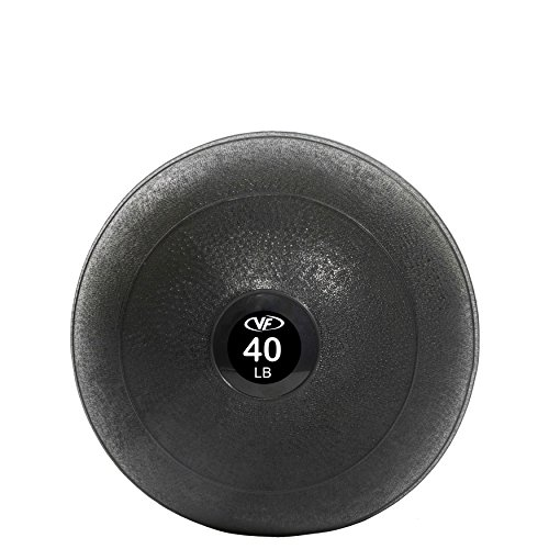 Valor Fitness Slam Ball, 30-Pound, Black