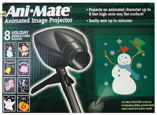 2 Step Animated Holiday Projector