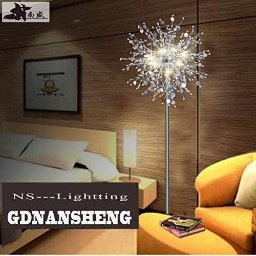 GDNS 24W Warm LED Imitate Crystal Floor Lamp,19.519.571 Inch LWH by GDNS (Image #2)