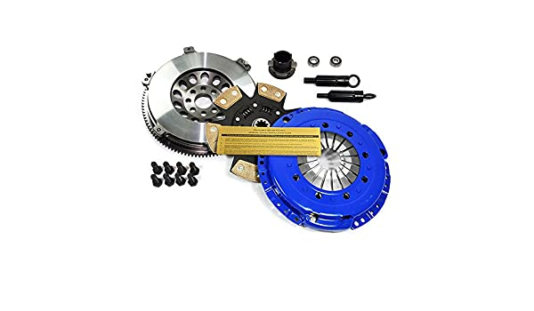 EFT etapa 3 Kit de embrague y 14,5 kg volante BMW 325 328 525 528 M3 Z3 E34 E36 E39: Amazon.es: Coche y moto