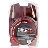 Monster Performer 600 Instrument Cable, 3-Feet, Straight 1/4-Inch Plugs