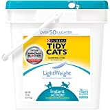 Purina Tidy Cats Lightweight Instant Action Clumping Litter for Multiple Cats- (1) 12 lb. Pail