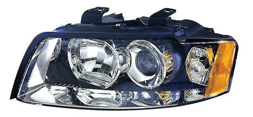 Go-Parts - for 2002 - 2005 Audi A4 Quattro Front Headlight Assembly Housing / Lens / Cover - Left (Driver) Side - (4 Door; Sedan + 4 Door; Wagon) 8E0 941 029 F AU2502113 Replacement 2003 2004