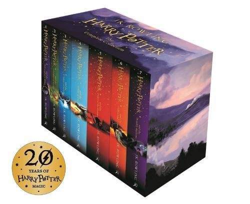 $48.84 (was $105.50) Harry Potter Box Set: The Complete Collection (Children's Paperback) Paperback – Oct 9 2014