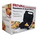 Rival Sandwich & Snack Maker White Model 9720