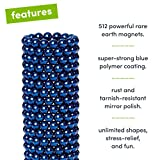 Speks Magnetic Balls - Classic Blue Set of 512