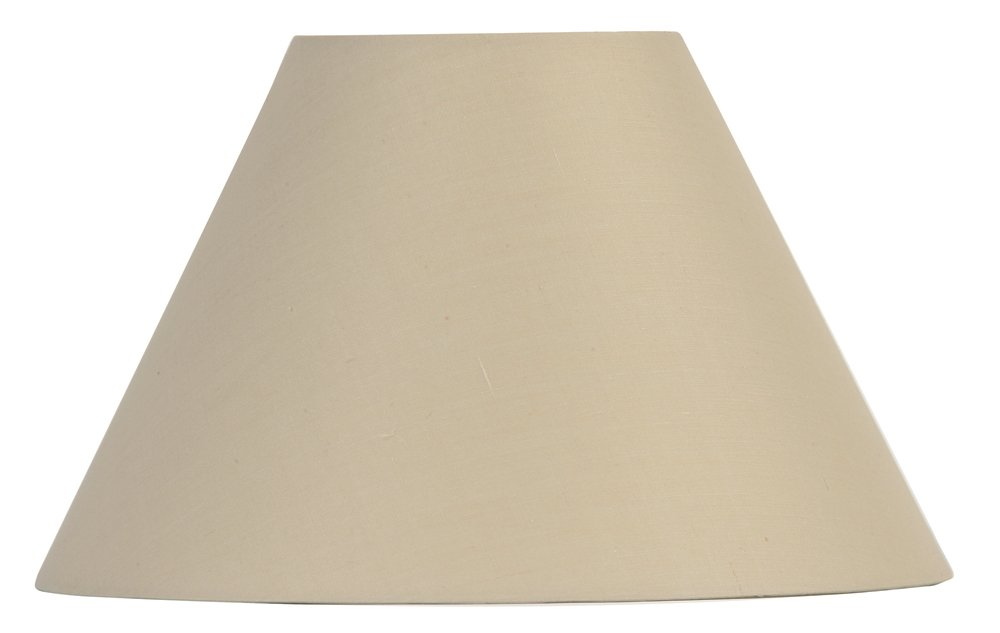Oaks Lighting - Pantalla para lámpara (15 x 25/10 cm), color beige S501/10 BG