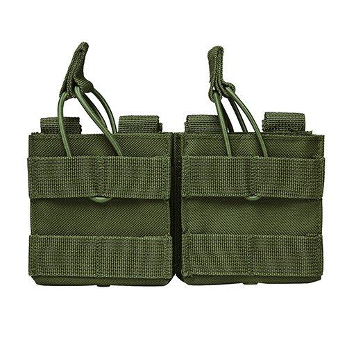 NC Star AR10/M1A/FAL .308 Dual Magazine Pouch, Green, used for sale  Delivered anywhere in USA