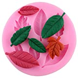 Leaves Cake Mold Fondant Chocolate Embossing Mold Silicone Cake Mold Sugar Arts Tools DIY Cake Decorating Tools N1509