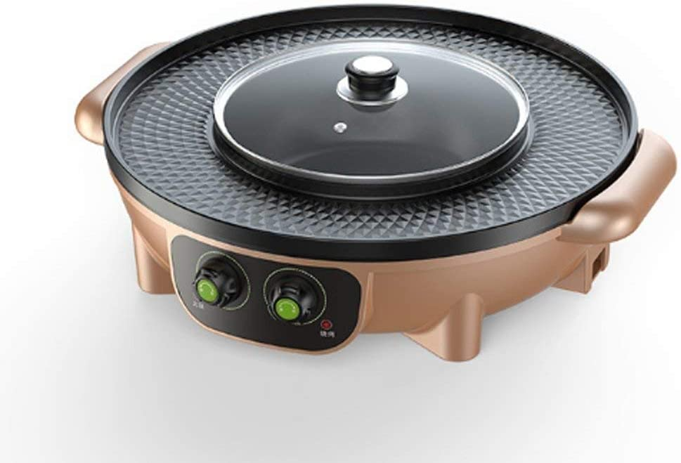 Multi-function Barbecue Pot, Electric Baking Pan, Electric Hot Pot, One-pot Grill, Korean Barbecue Hot Pot