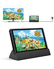 Nintendo Switch Dock, Replacement for Nintendo Switch Dock TV Dock Station Portable Charging Docking Playstand for Nintendo Switch Charge and Play with Type C to HDMI TV Adapter, USB 3.0 2.0