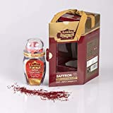 Arnika Genuine Persian Saffron 100% Pure Premium NON-GMO, All Natural Gift Package (4g)