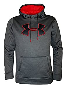 Under Armour Men's Storm Fleece Big Logo Hoodie Athletic Hooded Shirt (S)